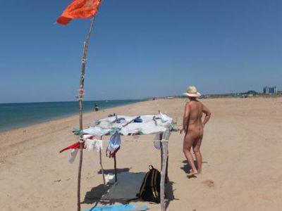 Нудистский пляж в Благовещенке фото